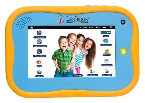 Lexibook 7-inch Tablet Junior Power Touch with Capacitive Screen in English Version by LEXIBOOK