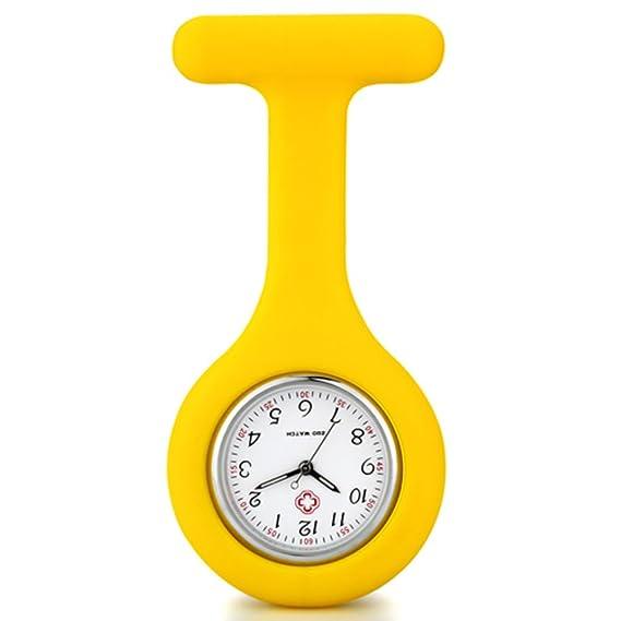 Reloj luminoso enfermera médico-F