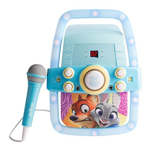 Zootopia Karaoke Player Music Set, One Microphone Included, KO2-03129 by Zootopia