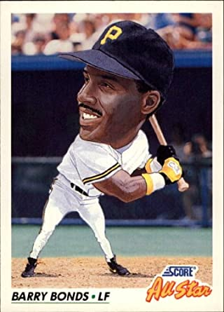 Amazoncom 1992 Score Baseball Card 777 Barry Bonds