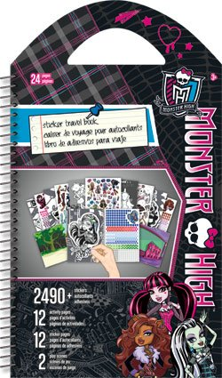 Monster High Stickers Activity Travel Book