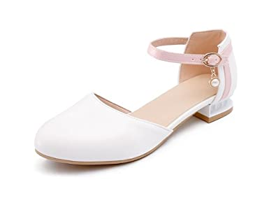 9580f6bcd7e2 Flat Bottom Women s Shoes Casual Shoes Light Loafers Classic Pump  Sandals(Beige 34 3