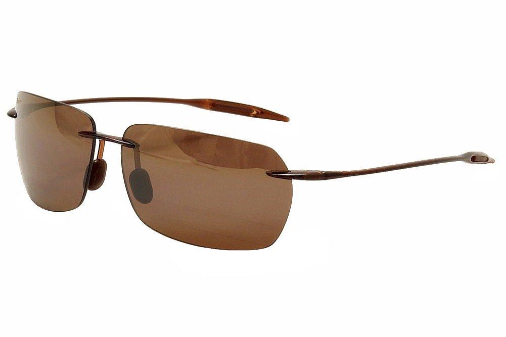 6aae82b699deb Maui Jim H425 26 Rootbeer Banzai Rimless Sunglasses Golf
