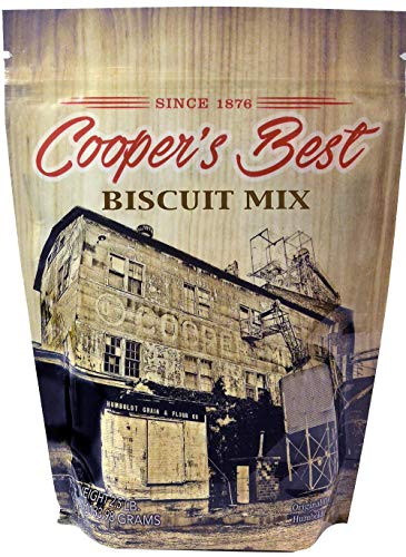 - Cooper's Best: Biscuit Mix (2.5 LB Bag) - Based On Original 1876 Recipe - An Old Favorite Perfect for Any Time - Premium Milled Flour - Made in the USA - 28 Servings