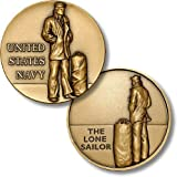 US Navy - The Lone Sailor Challenge Coin