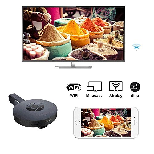 2018 YEHUA WiFi Display Dongle HDMI 1080P TV Receiver Adapter Mirroring Screen from Phone to Big Screen Support Miracast Airplay DLNA TV Stick for Android/Mac/ iOS/Windows. by Yehua (Image #2)