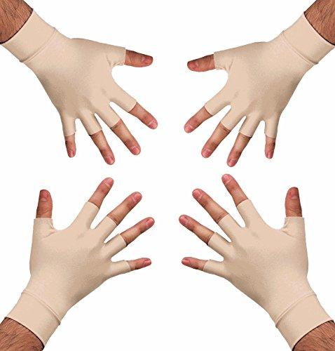 Medipaq Anti-Arthritis Health Therapy Gloves 2X Pairs Medium - Anti Glove