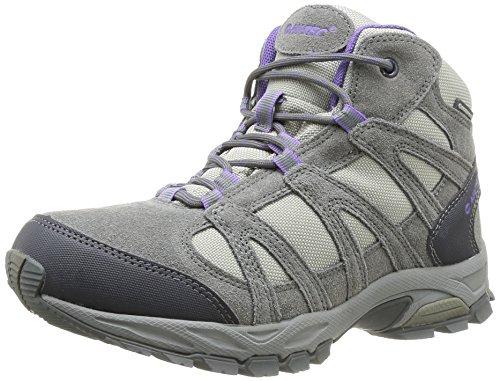 Hi-Tec Alto Mid Wp - Zapatos para mujer Grey/Purple