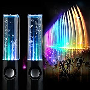 Samsonico Dancing Water Speakers (2-Piece) Black SM-32946