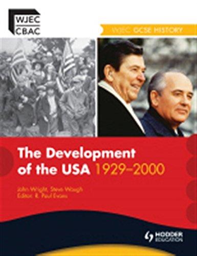 Download Development of the USA 1929-2000: WJEC GCSE History ebook