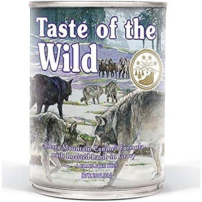 Taste Of The Wild Sierra Mountain Canned Dog Food, 13.2 Oz, Medium