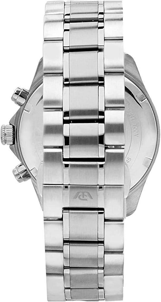 Philip Watch R8273665003 Orologio da polso Uomo, Acciaio