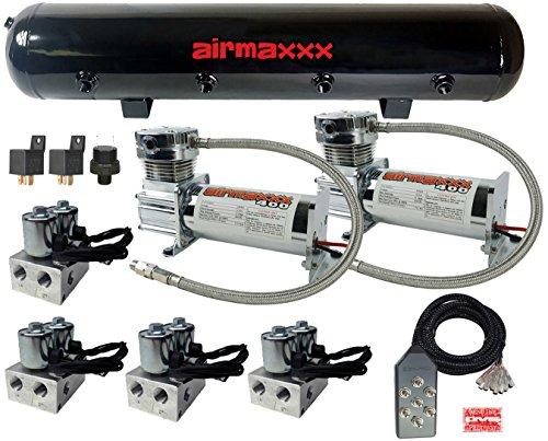 airmaxxx Air Suspension Management Parts Bundle For Air Ride (Suspension Lowrider)