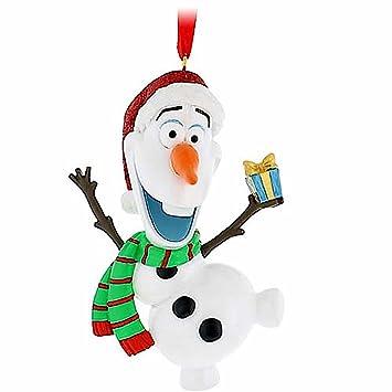 Image Unavailable - Amazon.com: Disney Parks Olaf Snowman Frozen Christmas Holiday