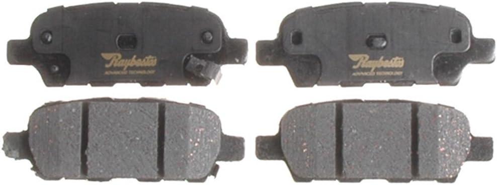 Raybestos ATD905C Advanced Technology Ceramic Disc Brake Pad Set