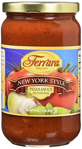 Ferrara New York Style Pizza Sauce, 16 Ounce