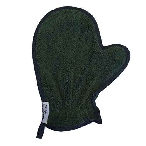 TackSaver Adult Cleaning MItt (Green), Furniture Cleaning mitt, Horse Grooming mitt, Fly Spray applicator mitt, Horse sheening mitt, House Cleaning mitt