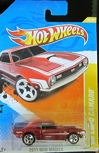 2011 Hot Wheels 25/244 - New Models 25/50 - '68 Copo Camaro [Red]