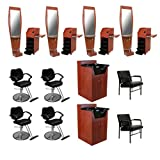 4 Salon Styling Station Package DP-60A