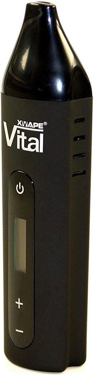 Vaporizador xvape Vital para hierbas con regulación de temperatura continuo–Pantalla OLED–negro o blanco