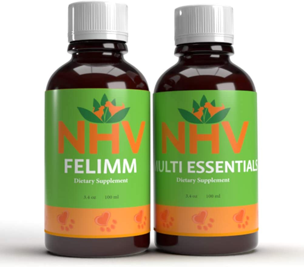 NHV Immune Condition Fighter Pack for Cats, Dogs & Small Pets | Helps Support a Healthy Immune System & Great Antioxidant Properties