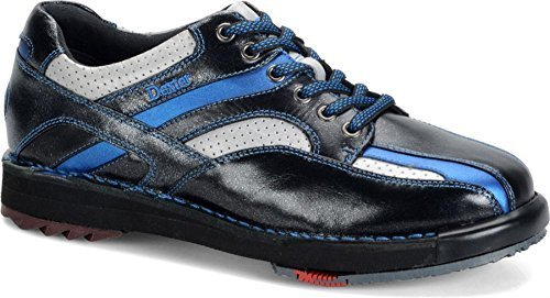 Dexter Men's SST 8 SE Bowling Shoes, Black/Silver/Blue, 13 Wide by Dexter