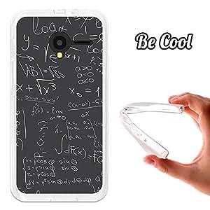 Becool® - Funda Gel Flexible para Orange Dive 50 .Carcasa TPU fabricada con la mejor Silicona protege, se adapta a la perfección a tu Smartphone y con nuestro diseño exclusivo Fórmulas Matemáticas