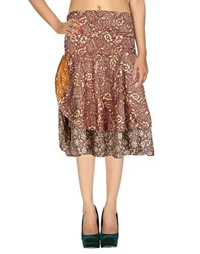Printed Ethnic Ladies wear Women skirt Knee-long skirt