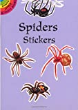 Spiders Stickers (Dover Little Activity Books Stickers)