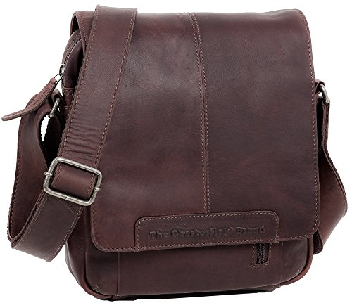 The Chesterfield Brand , Borsa Messenger  Unisex �?Adulto marrone marrone