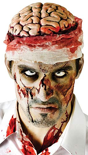 Bloody Brain Headpiece Costume Accessory]()