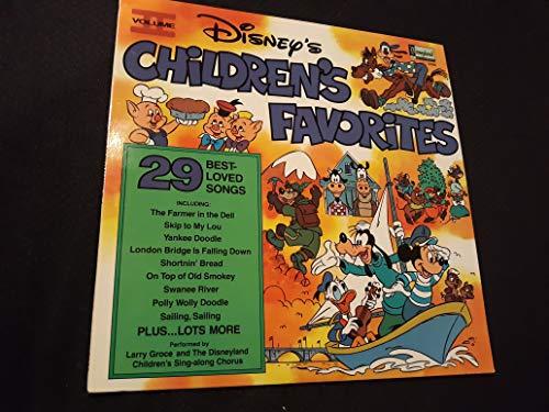 Disneys Childrens Favorites - VOL. II (29 Best-Loved Songs) {LP}