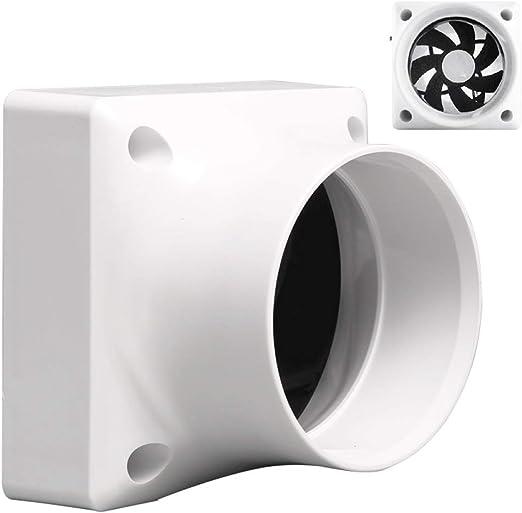 Ventilación Extractor Tubería Ventilador de conducto de escape mini Ventiladores extractores de tubería de bajo ...