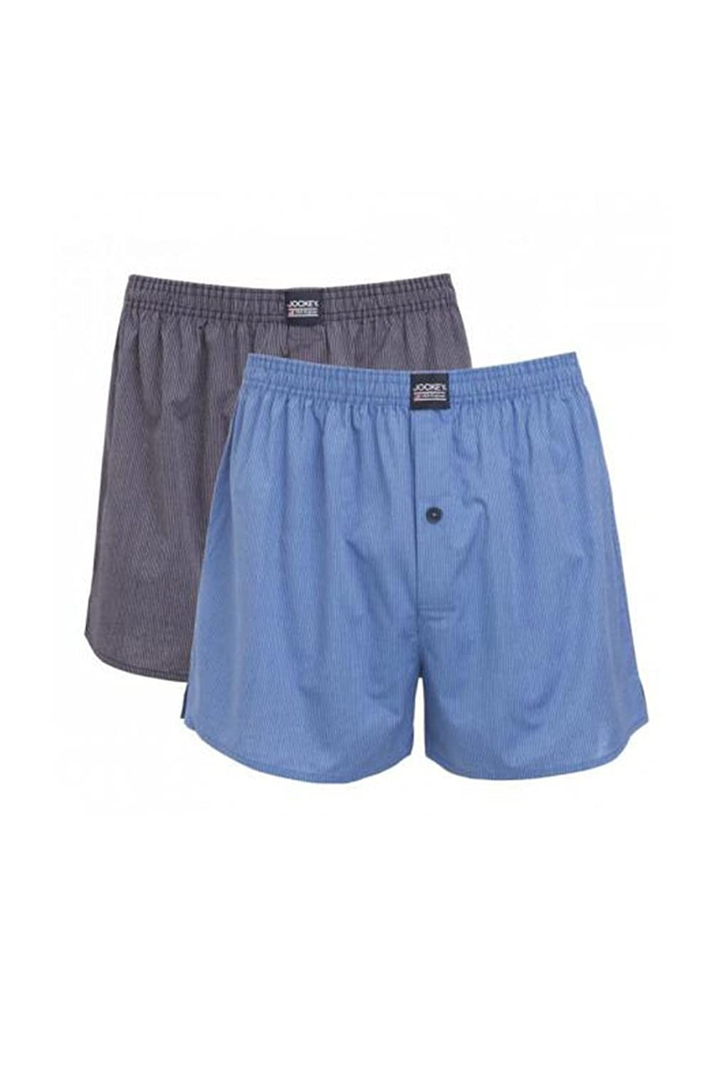 Jockey 4300 Boxer Short 4er Pack - star blue S (4) bis 6XL (12)