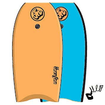 surfnsun bodyboard SIMILAR 39 Naranja-Azul Tabla de surf
