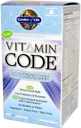 Vitamin Code 50 and Wiser Men's Formula - 240 ct