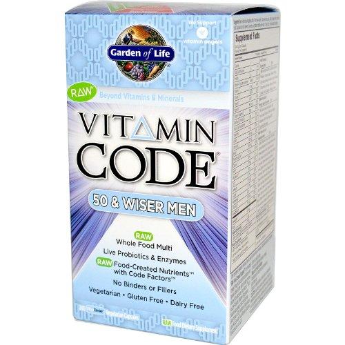 Vitamin Code Wiser Mens Formula
