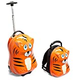 Travel Buddies Luggage, Tinko Tiger/Orange