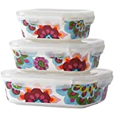 French Bull-Food Storage Container with Air Tight Lid-Porcelain Set-Gala, Multi