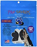 Medium Paw Savers, Disposable Dog Paw Pads, (33-44 lbs) 24 Pieces