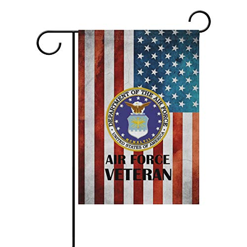 eteran Gift US Air Force USAF Home Decorative Outdoor Two-Sided Garden Flag 12