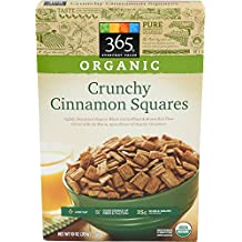 365 Everyday Value Organic Crunchy Cinnamon Squares, 10 Ounce