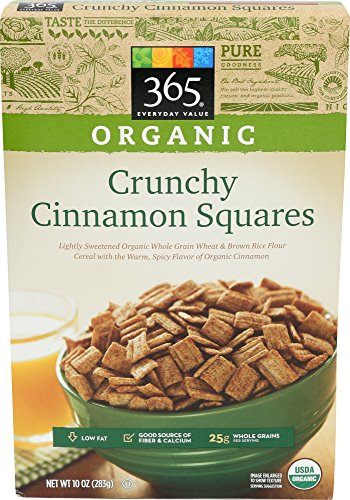 365 Everyday Value, Organic Crunchy Cinnamon Squares, 10 Ounce 51w4Sg8NlHL