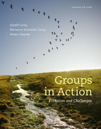 Groups in Action: Evolution and Challenges Workbook (with CourseMate Printed Access Card and DVD) by Corey, Gerald, Corey, Marianne Schneider, Haynes, Robert 2nd (second) (2013) Paperback