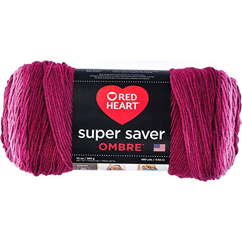 Free Crochet Patterns Featuring RED HEART SUPER SAVER OMBRE YARN - New for 2017! - True Anemone (magenta, pinks)