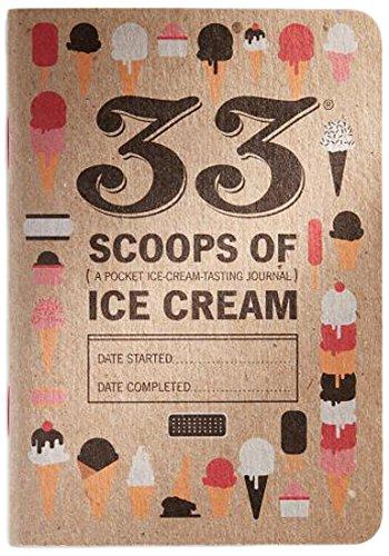 33 Scoops of Ice Cream: Pocket Ice Cream-Tasting Journal ebook