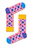 Happy Socks Peace And Love Sock Peace And Love Pink 36-40