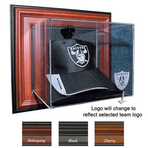 New York Giants NFL ''Case-Up'' Cap Display Case (Cherry) by Caseworks