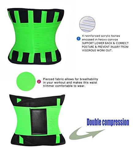 FOUMECH Women's Waist Trainer Belt details