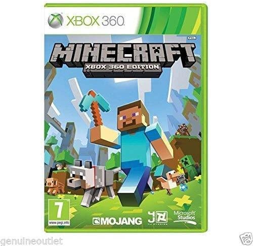 Minecraft: Xbox 360 Edition for Xbox 360 BRAND NEW FACTORY SEALED ...